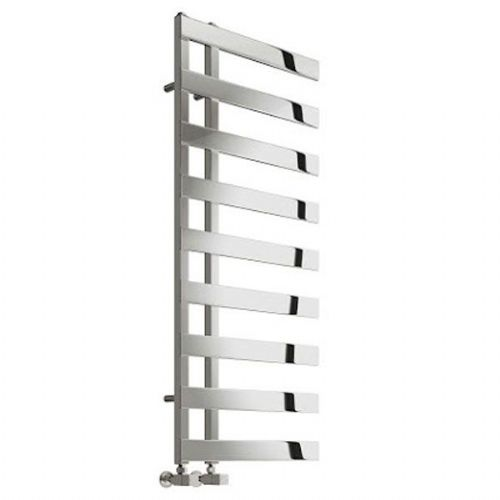 Reina Capelli Vertical Designer Heated Towel Rail - 800mm x 500mm - Polished
